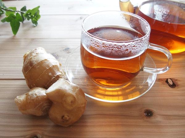生姜紅茶で冷え対策