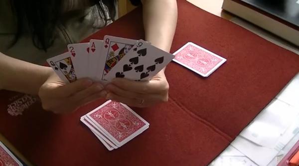 カードを見つけた