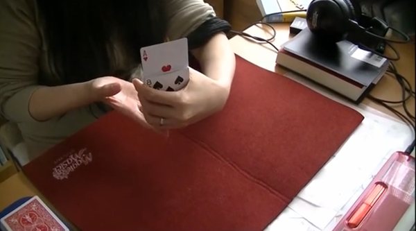 トランプマジック初級成功!