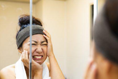 ショックな肌荒れを改善する!